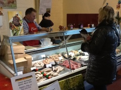 At farmers markets all over the country you will find a wonderful array of Irish made offerings, such as Peter Whelan of The Whole Hoggs Farm who offers artisan butchering and the most heavenly sausages.