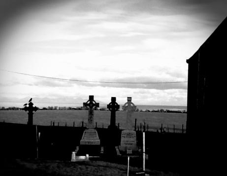 Churchyard near Clogherhead Ireland.