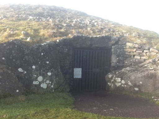 Entrance to Cairn T at Loughcrew