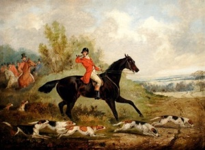 """Tally Ho"" by Henry Alken"