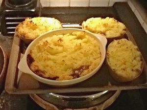 Patricia's delicious Shepherds Pie