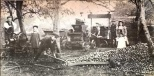 """Cider makers from Aylburton, England 1910. Photo from """"Old Photos Of the Forest of Dean"""""""