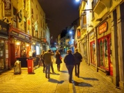 Late night in Galway Ireland...picture taken by Bryan Haynes