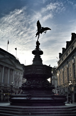 Piccadilly at sunrise, London
