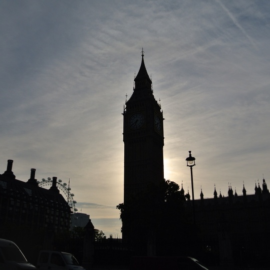 Big Ben early morning, London