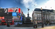 Piccadilly early morning, London