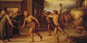 """""""Lupercalia"""" by Domenico di Beccafumi"""