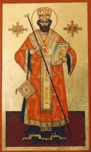 Saint Valentine, patron saint of love, young people & marriage - 2nd Century