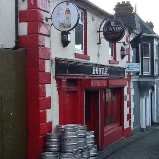 Boyles Pub Slane, Co. Meath Ireland. ...delivery day!!