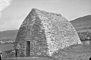 Gallarus Oratory, one of the finest original early Christian churches, built in completely of stone a style that was typical of the Dingle Peninsula (on the list for my next visit!)