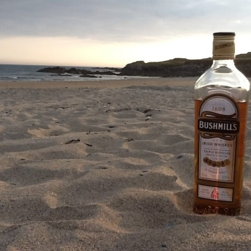 A bottle on the beach...Sherkin Island, West Co. Cork Ireland