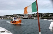 Leaving Baltimore, Co. Cork Ireland, via the ferry for a night on Sherkin Island