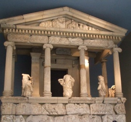 Part of the stunning Greek marbles in the Elgin Collection to be found for FREE inside the vast British Museum.