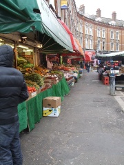 A small shot of this quiet market on the south of London in Brixton.
