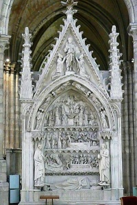 Dagobert's elaborate tomb
