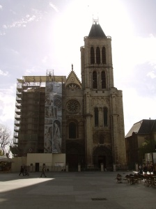 St. Denis Cathedral north Paris, the first of Gothic architecture