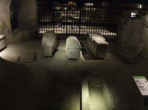 Early Gallo-Roman burial tomb beneath St. Denis Cathedral