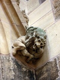 Judensau on the Cathedral of St. Martin in Colmar