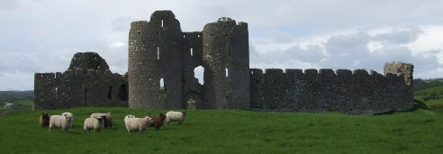 Castle Roche, 13th century, haunting and beautiful near the border in Co. Louth where old Provos and smugglers still roam.