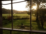 Beautiful morning view Meath Co. Ireland