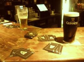 Late night in Dingle Ireland
