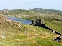 Three Castles Head, an amazing hike with amazing views near Mizen Head Ir.