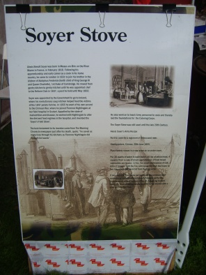 History of the British Army's Soyer Stove, that has saved millions of lives
