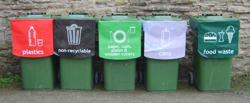 This fabulous recycling idea from a local company reduced the event trash from 56 skips (dumpsters) to just 6!!!! AMAZING!