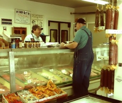 "A stop in at my ""local"" butcher shop, Williams Brother's Meat Market."