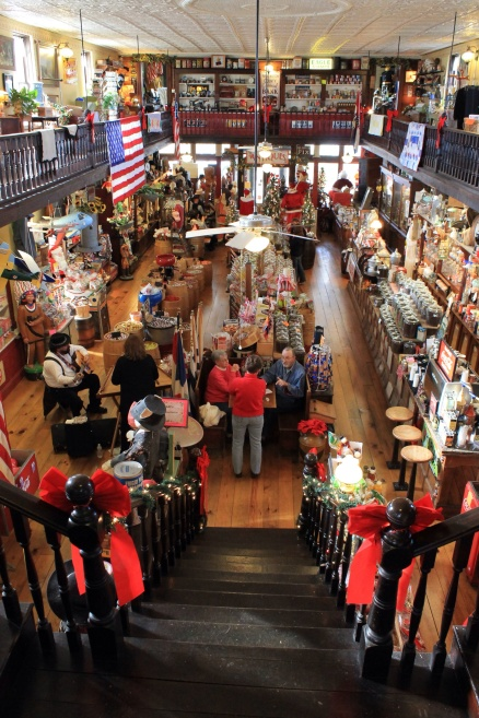 The wonderful step-back-in-time experience to be found at The Old Village Mercantile in Caledonia Missouri.