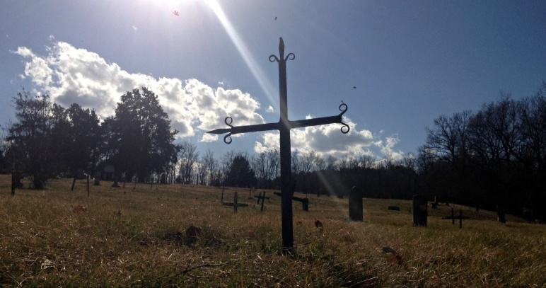 18th century cemetery, Old Mines, Mo.