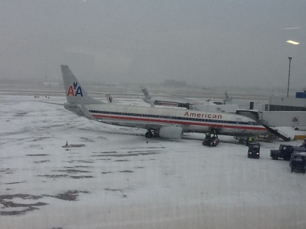 Mother Nature sharing even more winter wonderland with Missouri, but my flight is still a-go!