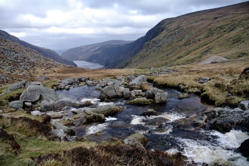 The remote Miner's Camp, deep in the Wicklow Mountains - i hiked last weekend