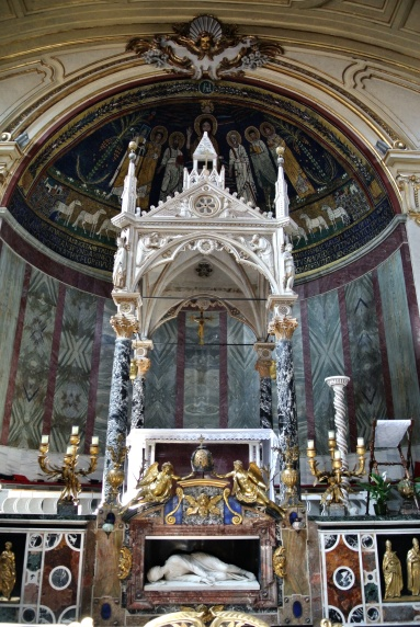 Altar of Saint Cecilia Trastevere, Rome