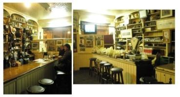 Interior of J.Curran's men's shop/pub. Wonderful publican and friendly regulars!