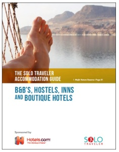 2014 Solo Travelers Accommodation Guide