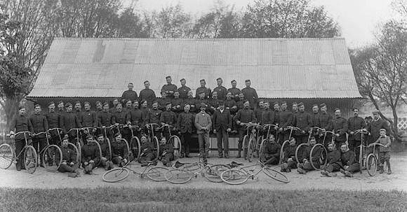 Royal Irish Constabulary, 1890-1910(?) National library of Ireland