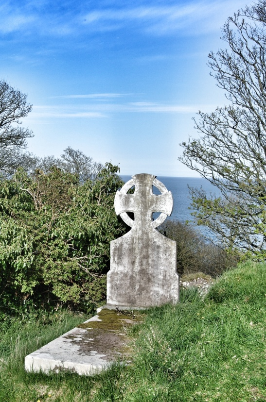 An idyllic spot to spent eternity. Layd churchyard overlooking the sea.