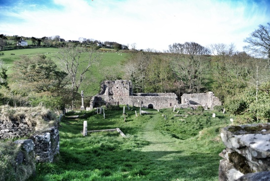 Ancient Layd Church, a sacred place long before these ruins where new.