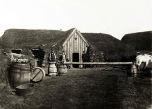 Keldur in the late 19th century