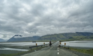 Kudos to the MANY cyclists we encountered peddling hard against Icelands elements!