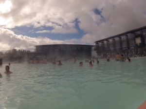 The Blue Lagoon... Best place to spent your last day in Iceland!!